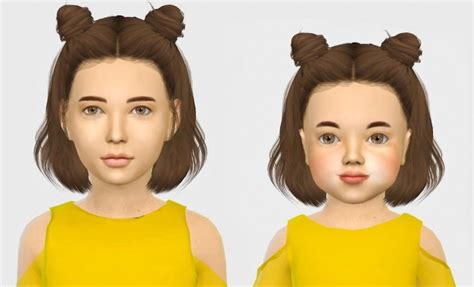 the sims 4 hair for female kids the sims resource leahlillith layla hair kids toddlers at simiracle 187 sims