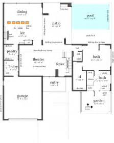 Interesting Floor Plans House Plans Swimming Pools