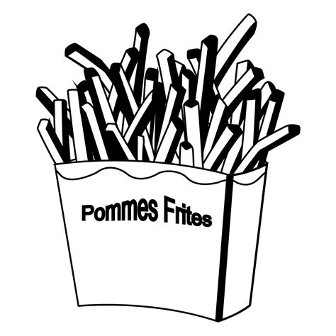 hamburger and fries coloring pages coloring pages