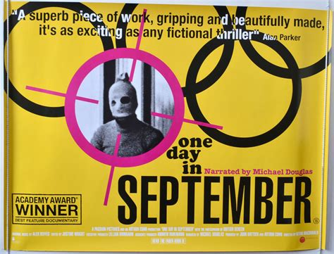 one day british film one day in september original cinema movie poster from