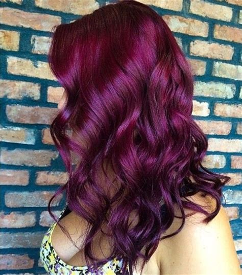 purple hair color thebestfashionblog com purple red hair color the beauty scoop my latest hair