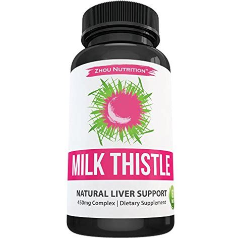 Detox Seed Extracet by Milk Thistle Supplement For Liver Support Detox