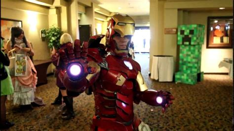 iron man cosplay moves