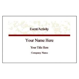 convention name card inserts template free avery 174 template for microsoft word name badge insert