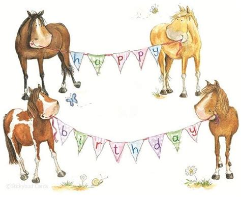 printable birthday cards horses free happy birthday horse clip art 23