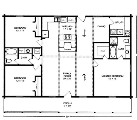 30x50 House Floor Plans 3 Bedroom 30x50 Joy Studio Design Gallery Best Design
