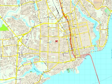 pensacola map pensacola map eps illustrator vector city maps usa america eps illustrator map our