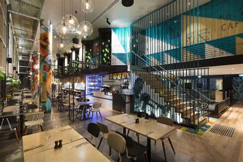interior design cafe melbourne bluetrain restaurant by studio equator melbourne