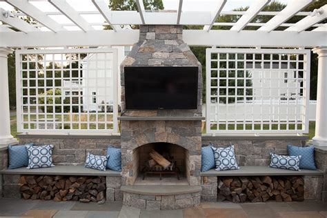 outdoor fireplaces by age new silica inc