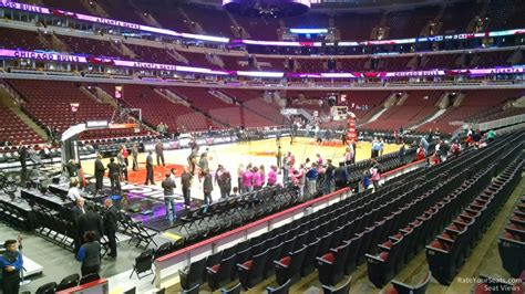 united center section 120 united center section 114 chicago bulls rateyourseats com