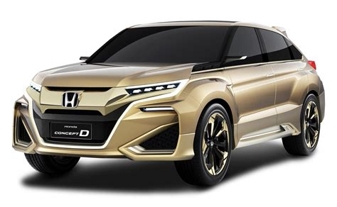 honda car png gold honda concept d car png image pngpix