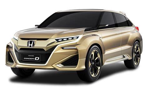 car gold gold honda concept d car png image pngpix