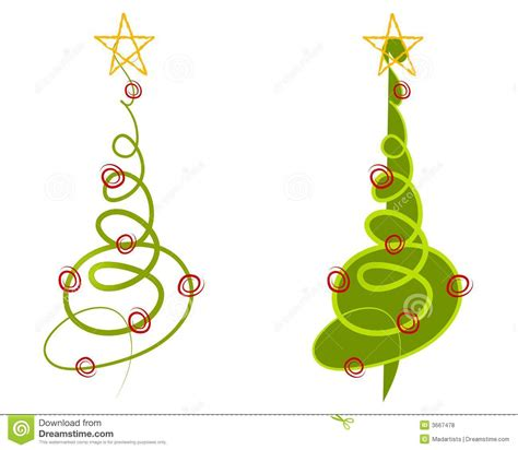 abstract christmas tree clip art royalty free stock photos
