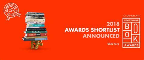shortlist 2018 charity awards charity new zealand book awards new zealand book awards trust