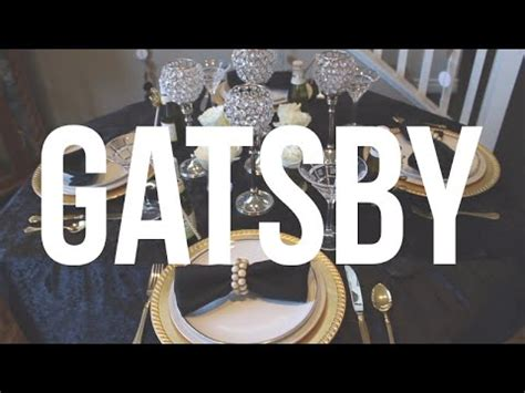 Throw A Great Gatsby  Ee  Party Ee   Diy Youtube
