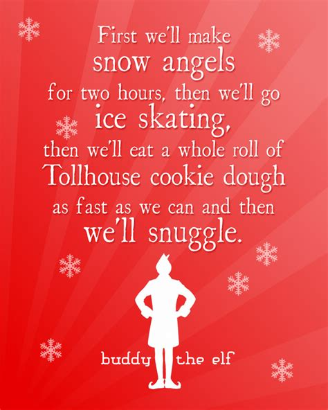 printable elf quotes christmas elf movie quotes quotesgram