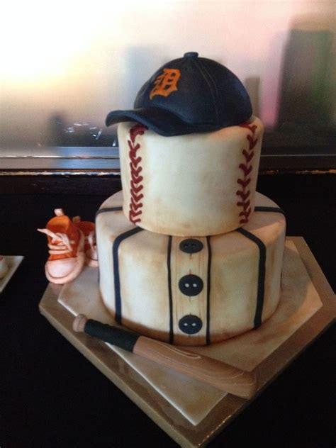 Baseball Baby Shower Cake Ideas by Baseball Themed Shower Cake Cakecentral
