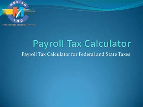 payroll calculator office templates