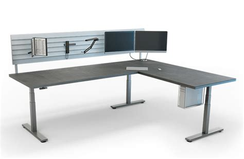 Linak Electric Height Adjustable Desk by Linak Has Another Way To Use Your Smartphone To Adjust
