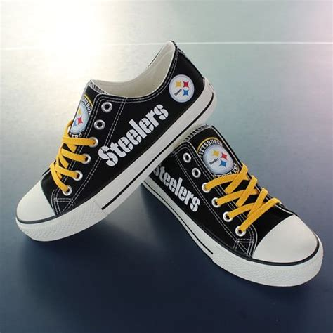 pittsburgh steelers sneakers pittsburgh steelers pittsburgh and shoes on