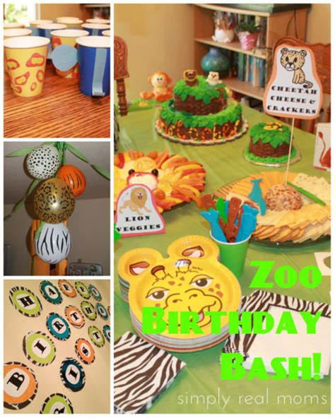 zoo themes party zoo birthday bash decorations