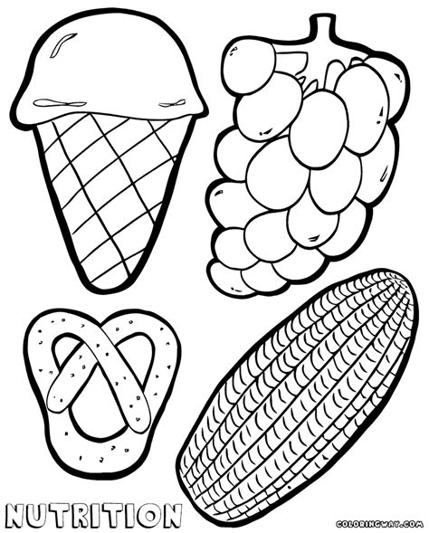 nutrition coloring pages coloring pages to download and