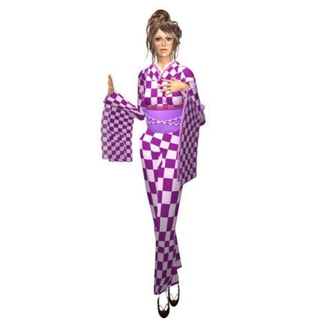 Akina Kimono kimono purple onsen akina s closet