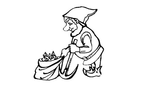 coloring pictures of garden gnomes gnome coloring pages coloringpages1001 com