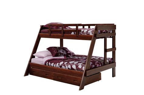 Woodcrest Bunk Bed Woodcrest Rustic Brown Bunk Bed Bunk Beds