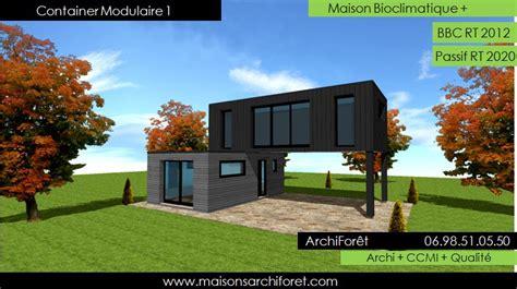 Garage En Bois Toit Plat 436 by Maison Toit Plat Bac Acier Ar27 Jornalagora