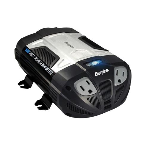 Power Bell 500 Watt energizer 500 watt 12 volt power inverter en500 the home depot