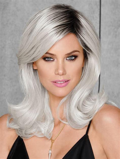 mid length grey hair classic mid length grey hair wigs