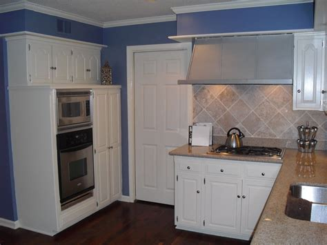 Paint Ideas For Kitchen - dark blue kitchen cabinets navy and also white with walls popular paint colors for kitchens wall