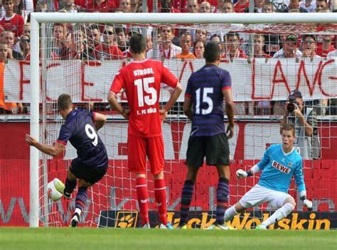 arsenal koln video fc koln 0 4 arsenal pre season friendly