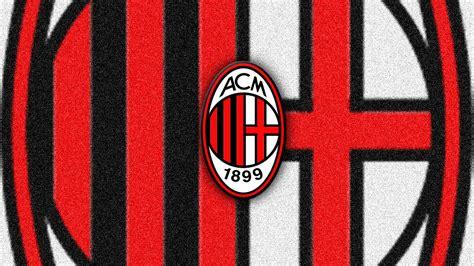 Kaos A C Milan Football Logo 4 Singlet Tanpa Lengan Tpl Acm15 Pria ac milan logo wallpapers hd collection free wallpaper