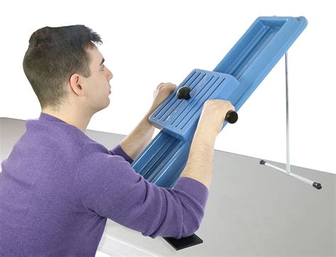 shoulder incline board  range  motion therapy