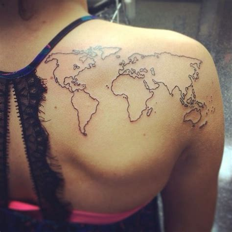 tattoo lincoln ne world map from iron brush in lincoln ne