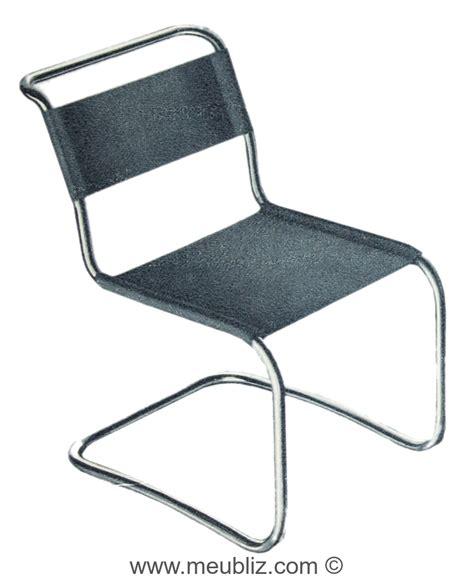 Chaise Marcel Breuer by Chaise B33 Cantilever Par Marcel Breuer Meuble Design