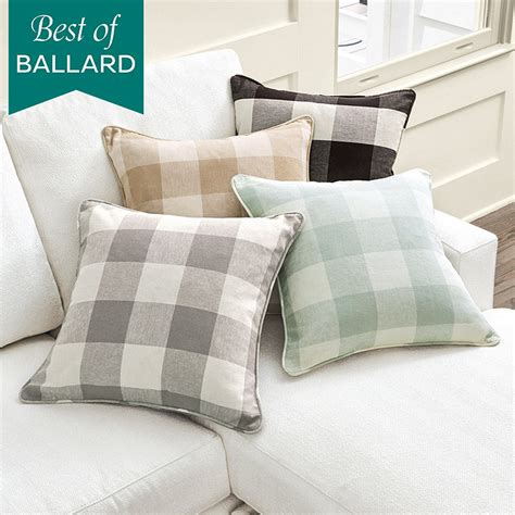 ballard design pillows buffalo check pillow ballard designs