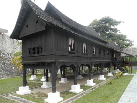 rumah rumah tradisional di malaysia seni lama melayu malay olden art rumah negeri sembilan