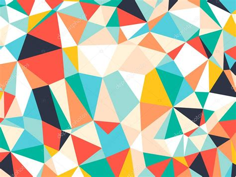 colorful triangle pattern wallpaper abstract bright colorful random triangle geometric