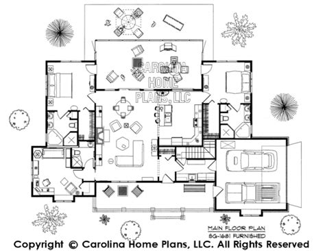 Small House Plans Carolina 3d Images For Chp Sg 1681 Aa Small Country Ranch 3d