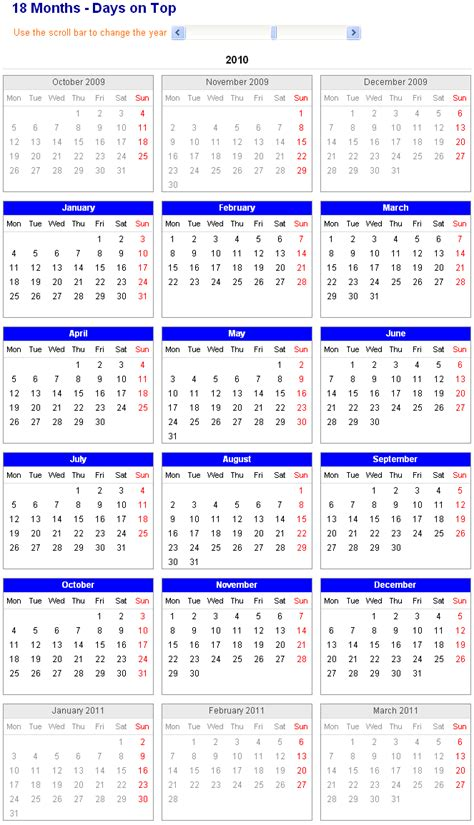 18 month calendar template 18 month calendars printable search results calendar 2015