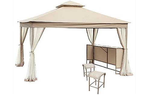 Patio Umbrella Grommet by High Grade Replacement Canopy For Laurel Park Gazebo The