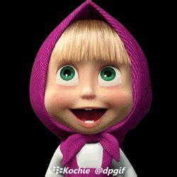 Boneka Itik Lucu kumpulan gambar animasi gif masha and the teknokita