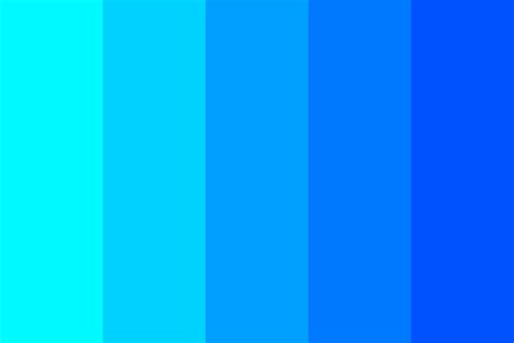 color shade blue shade color palette