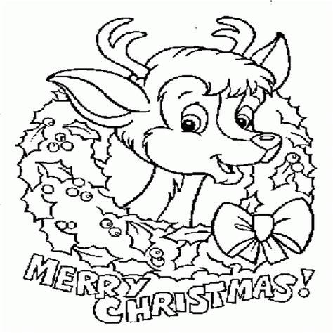 ciclo escolar la navidad dibujos para colorear