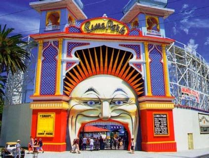 luna park melbourne to celebrate christmas in july