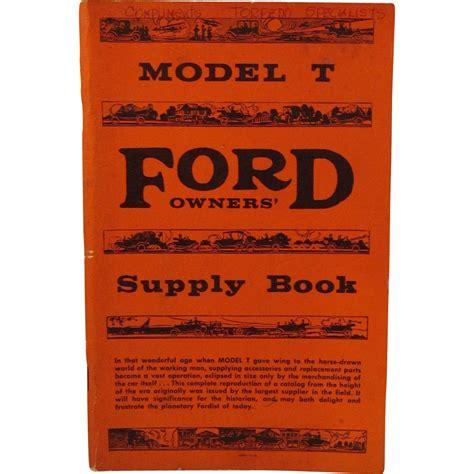 book repair manual 1909 ford model t free book repair manuals model t ford owners supply book from ssmooreantiques on ruby lane