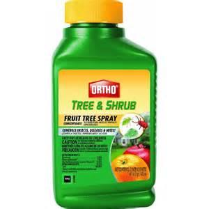 Tree Spray - scotts company 424310 fruit tree spray concentrate at